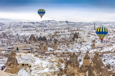 Malatya çıkışlı Kapadokya - Erciyes Turu